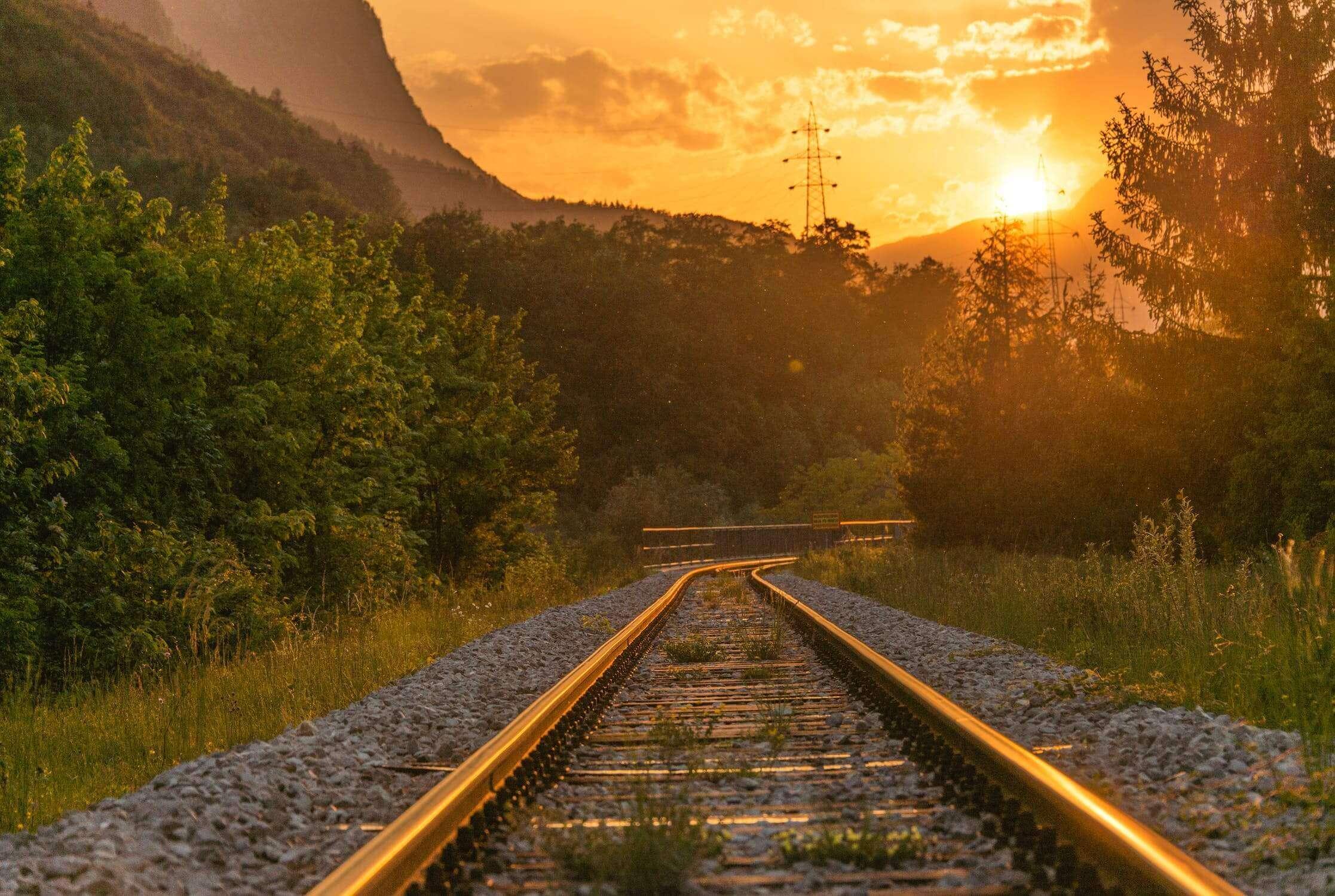 Anfahrt mit dem Zug