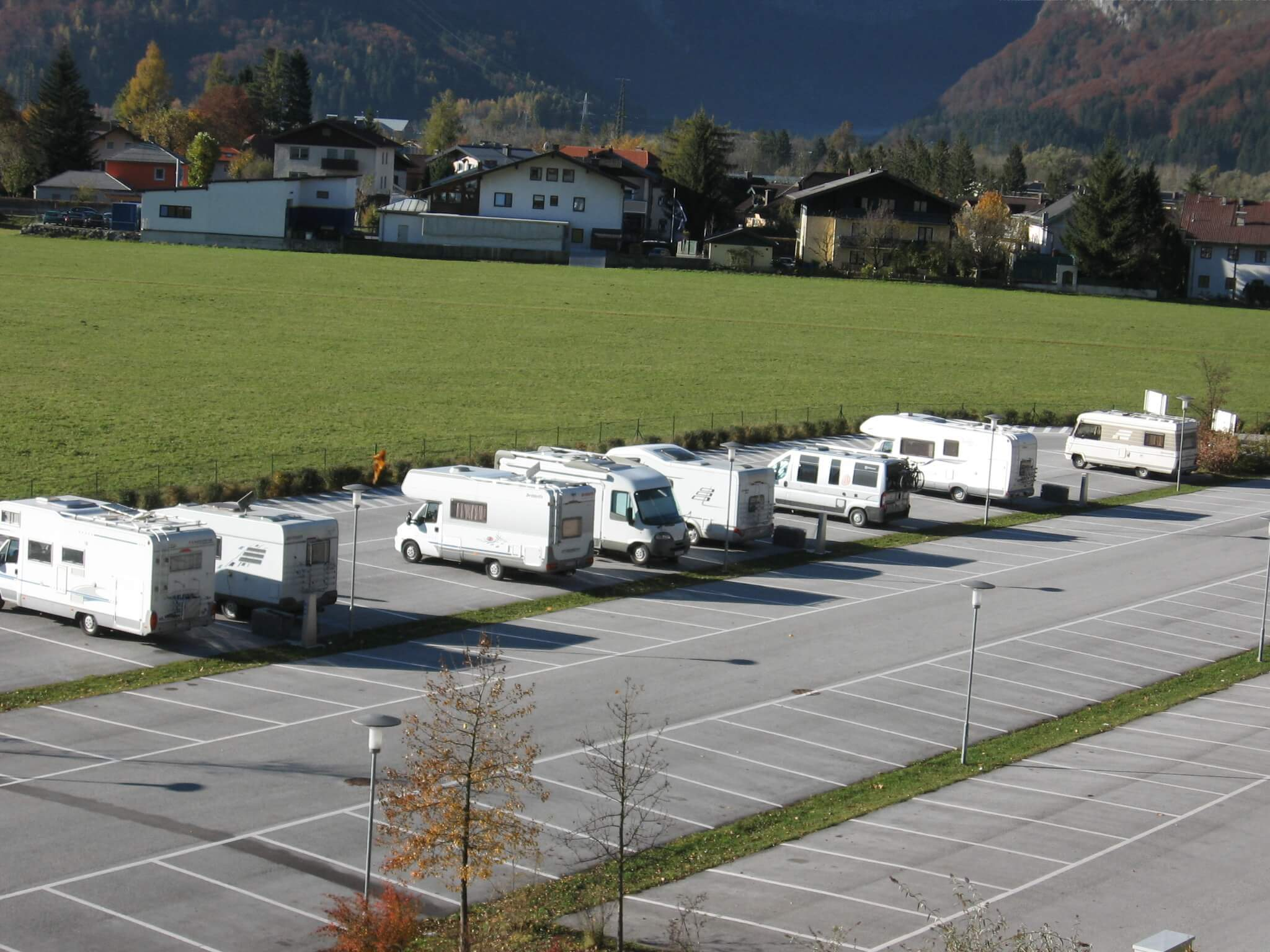 Wohnmobil-Park in Golling