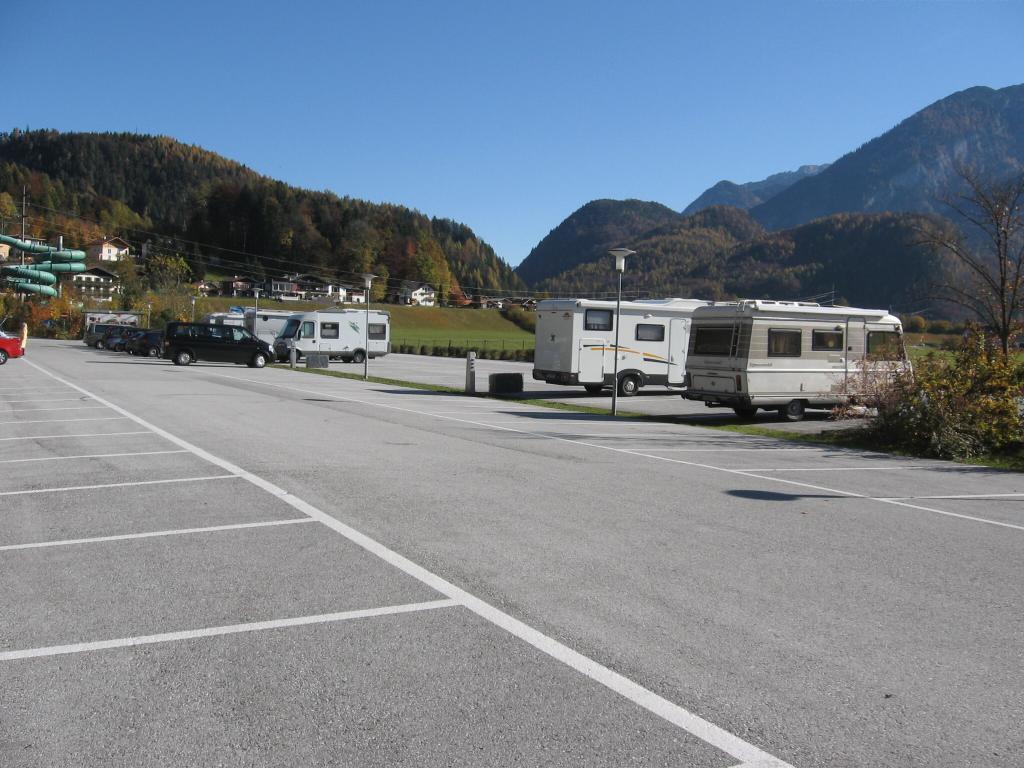 Wohnmobil-Parkplatz in Golling