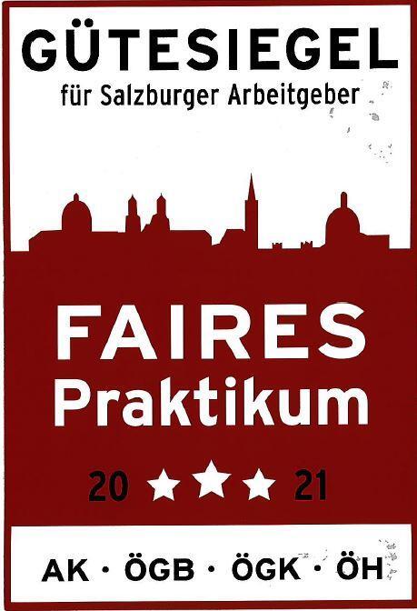 Faires Praktikum - Siegel für das Aqua Salza
