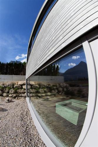 Sauna Fenster Aqua Salza